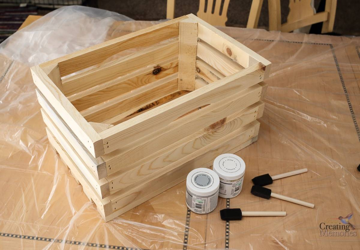 Easy DIY Crate Shelves for Organizing Pet Supplies