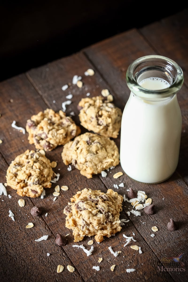 The Best Oatmeal Chocolate Chip Cookies You'll ever taste!