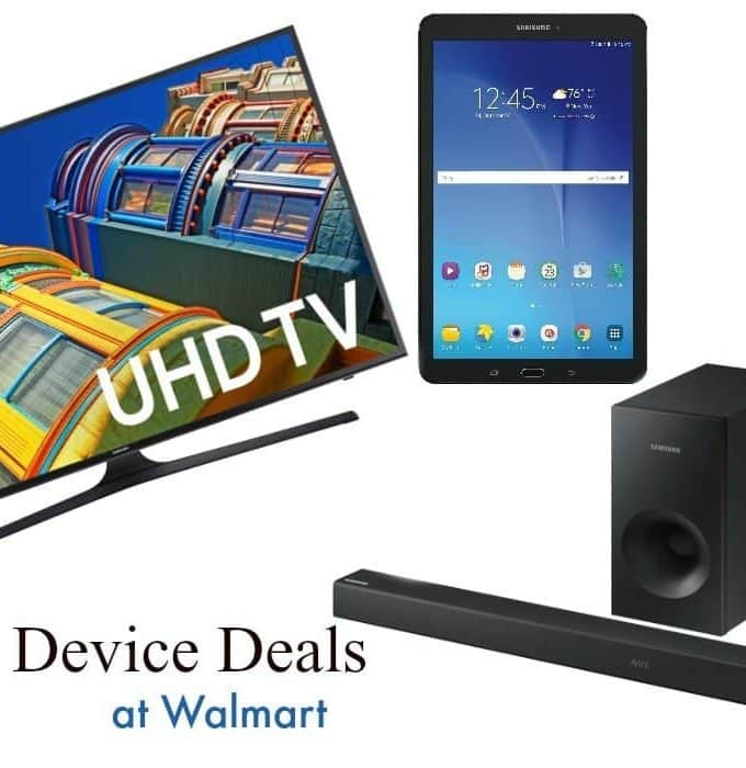 Amazing Samsung Device Deals at Walmart this Tax Season!