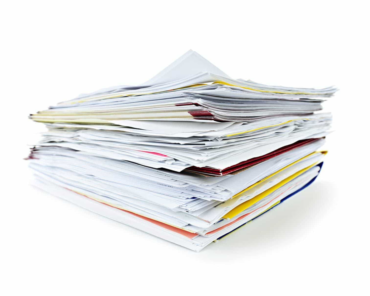 the best tips on how to organize important papers documents to
