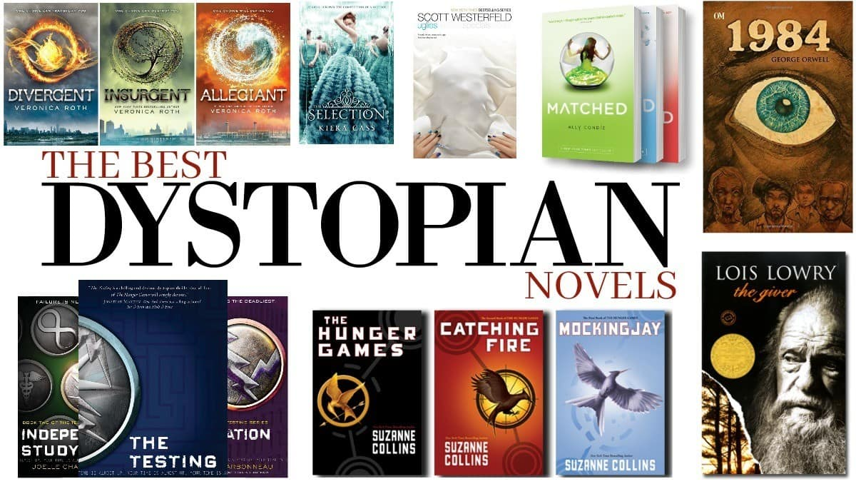 Image result for dystopian books