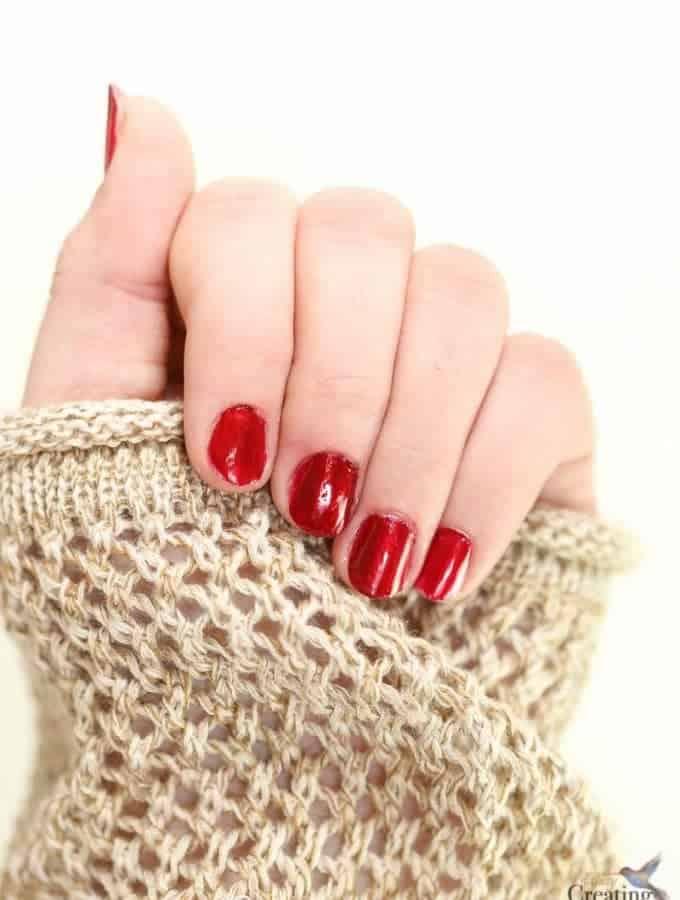 Easy Practical Mom DIY Manicure