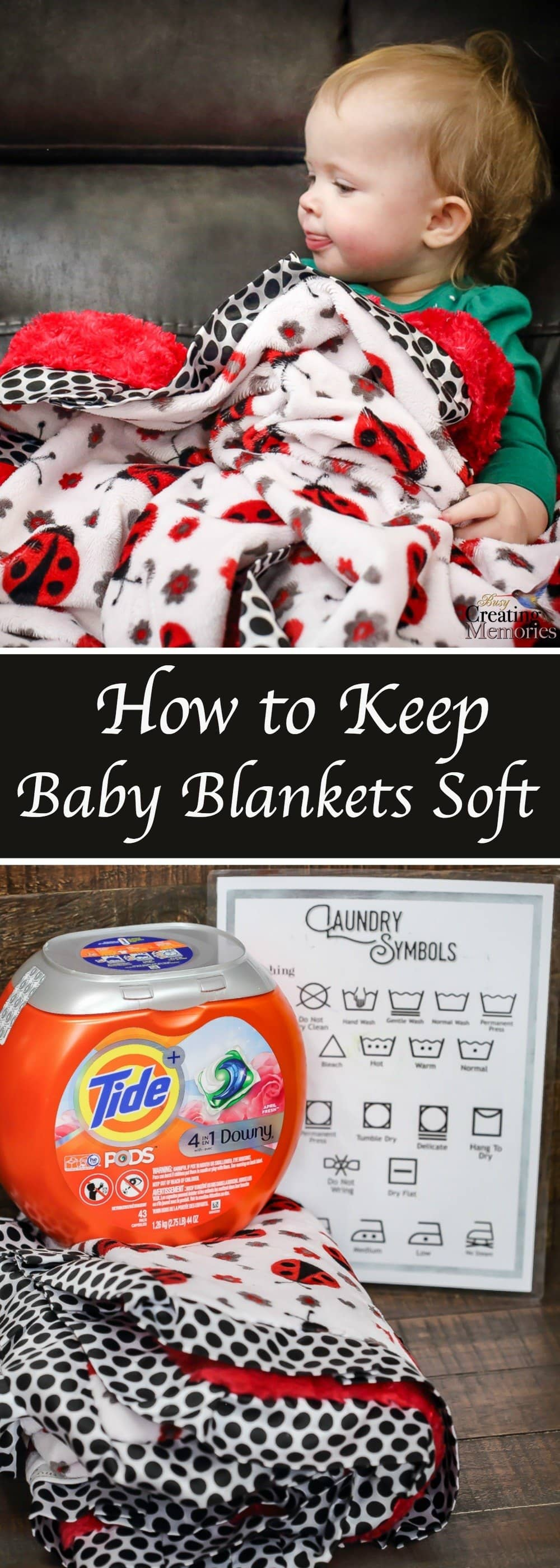 Kids take their baby blanket everywhere! Discover how to Keep their security blanket durable and looking nice for years to come! You can also use the same method to Keep Soft Blankets, and other Fuzzy things, Soft