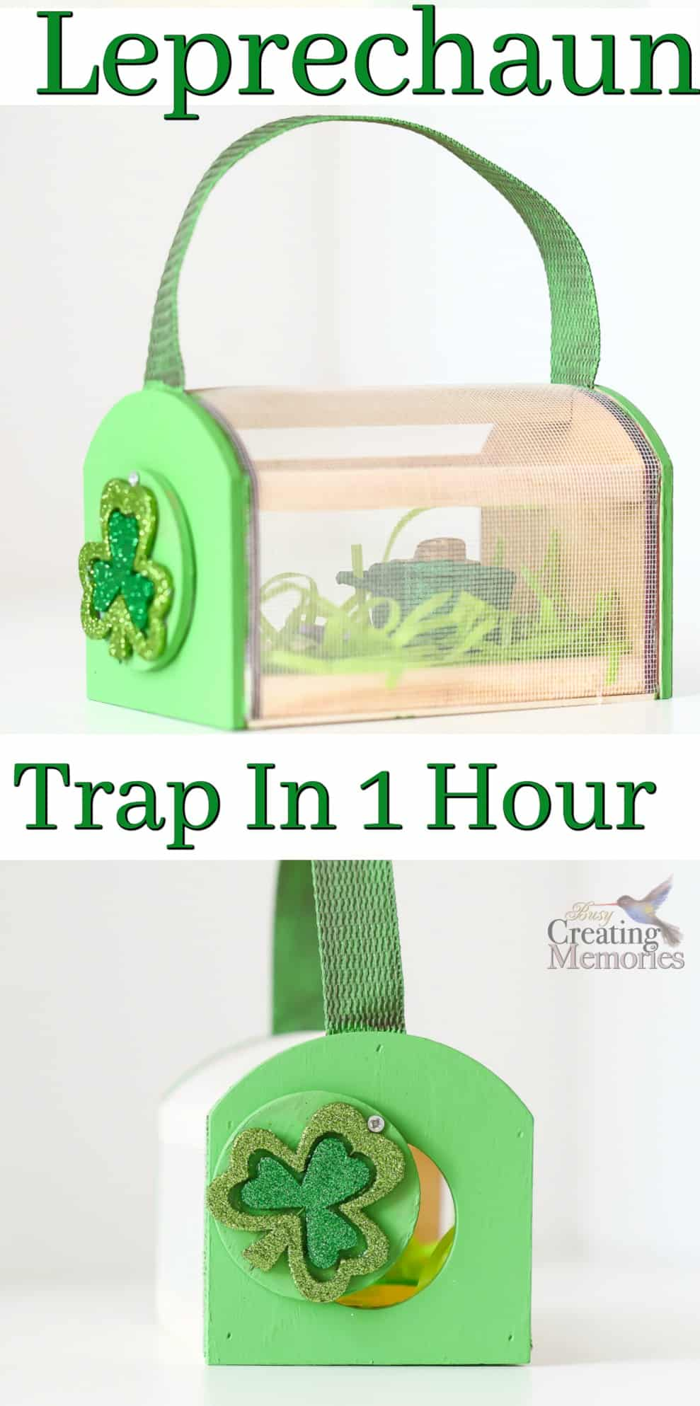 SIMPLE LEPRECHAUN TRAP FOR KIDS