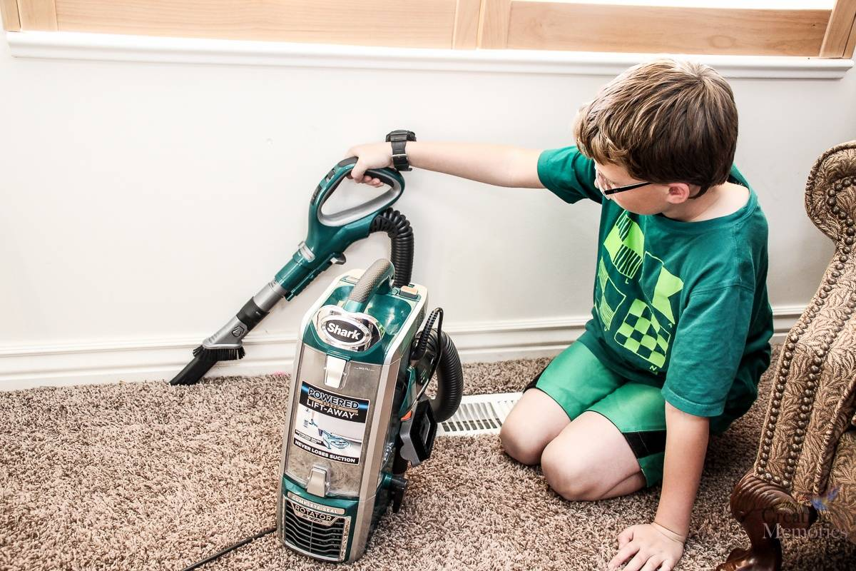 How to Teach kids How to Vacuum Carpet - Part 3 of How to Teach Kids to Clean series