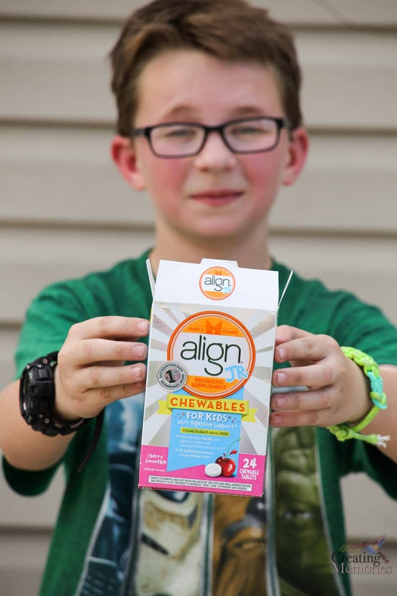 Keeping Summer Healthy with Kids probiotics.