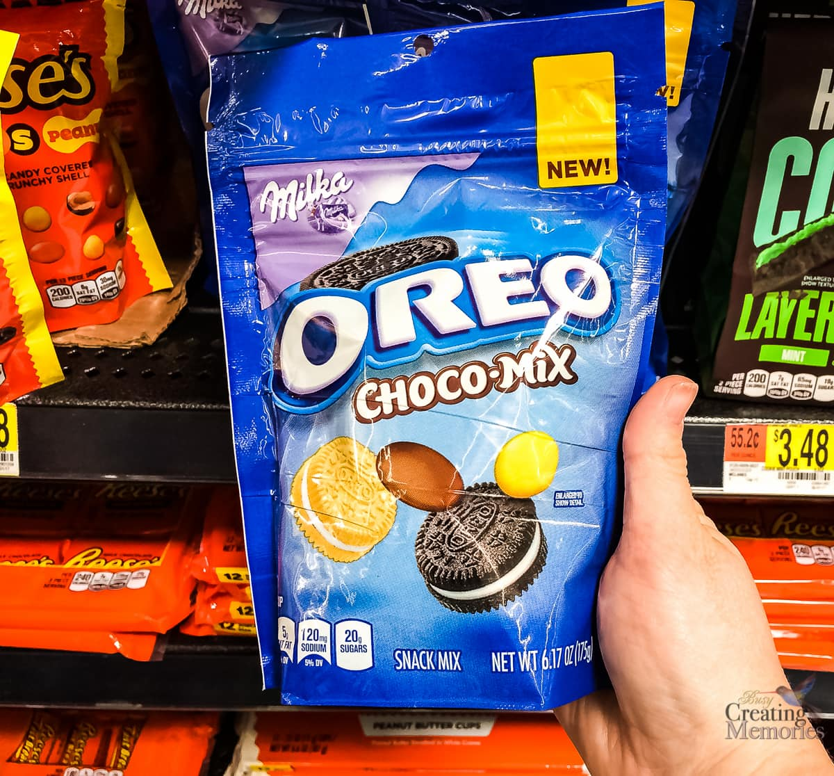 Treat Yourself with the new MILKA OREO CHOCOLATE CANDY + $25 WALMART GIFTCARD Giveaway!