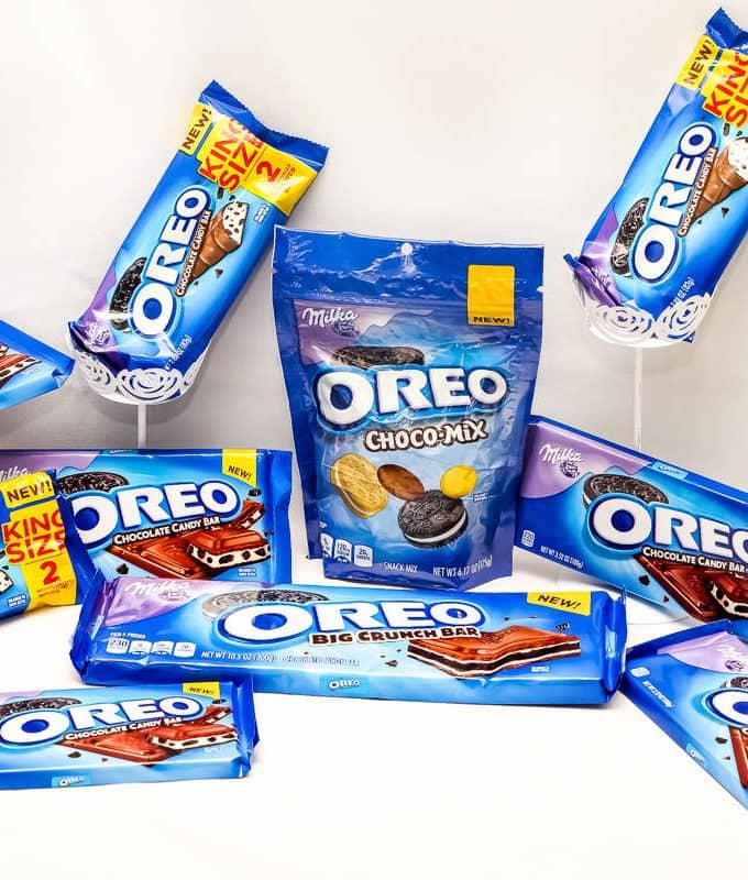 Try the MILKA OREO CHOCOLATE CANDY + $25 WALMART GC Giveaway!