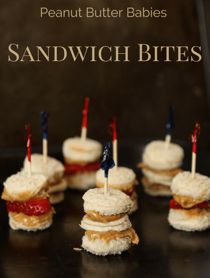 Calcium-Fortified Peanut Butter Babies Sandwich bites