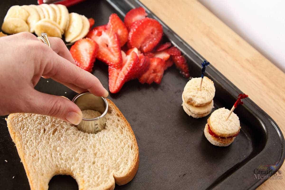 Calcium Fortified Peanut Butter Babies Sandwich bites