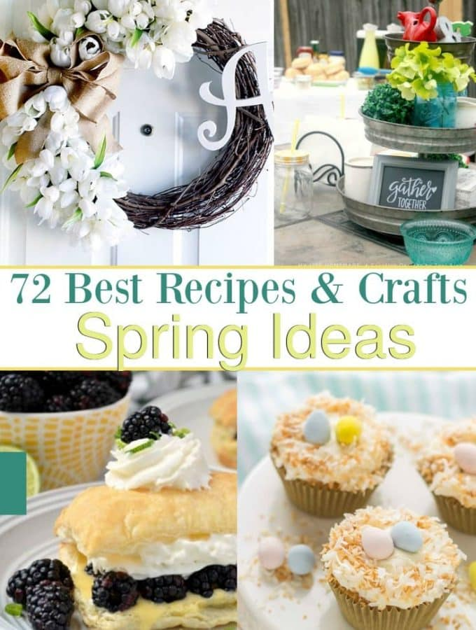 Inspiringly Fresh Spring Ideas Recipes and Crafts Roundup!