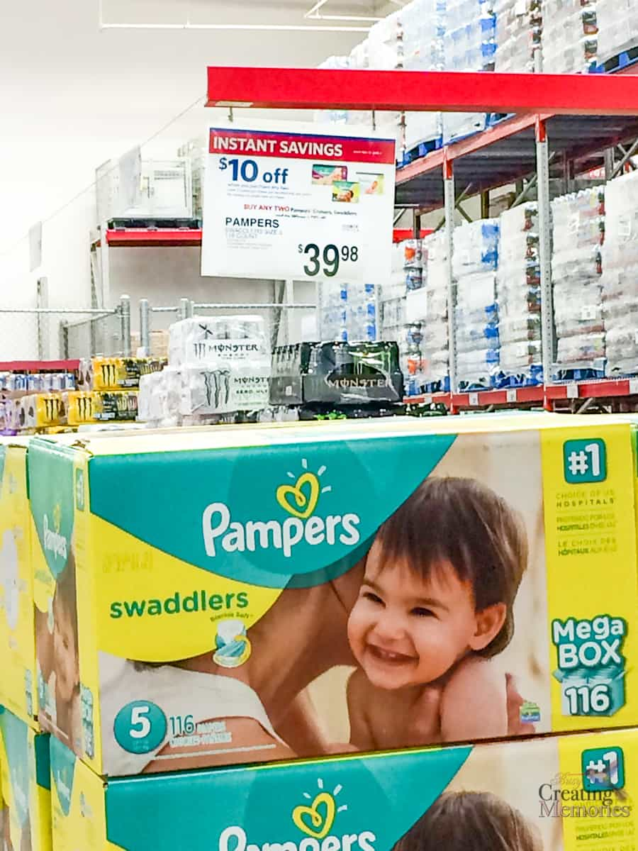 Save on Diapers & Why You Need a Stash