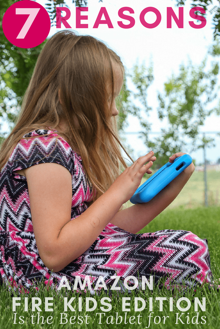 Every kid wants a tablet, but not all are equal, See our top 7 reasons why the Amazon Fire Kids Edition is the best tablet for children & Parents, to bring technology together in a fun learning activity with books, games, Android apps, and downloadable movies for the perfect on the go travel entertainment.