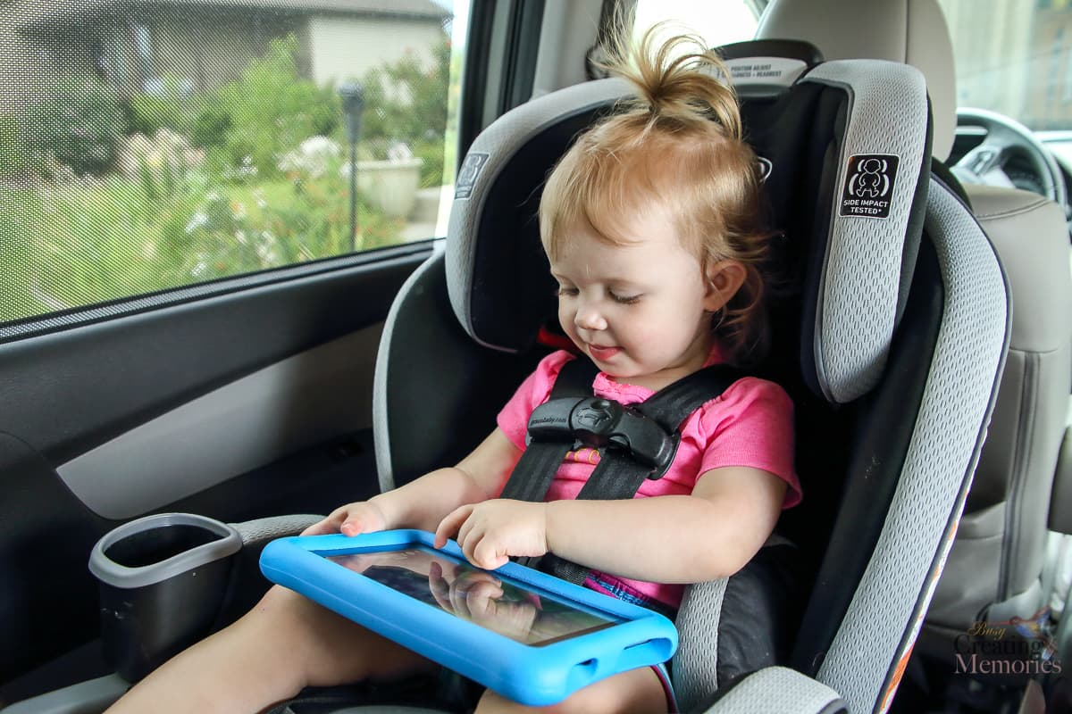 Image result for kids tablet in car