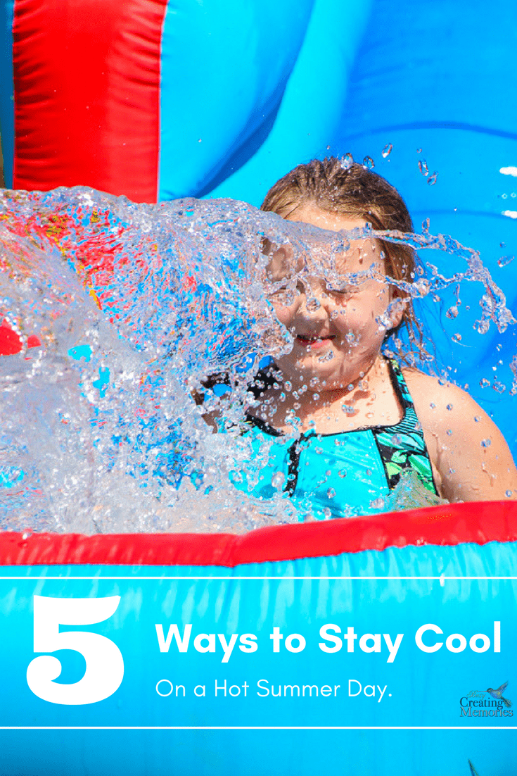 Don't suffer in the heat! Discover the top 5 ways to help kids stay cool on a hot day this summer! These clever, low-cost hacks keep you cool & safe while having fun.