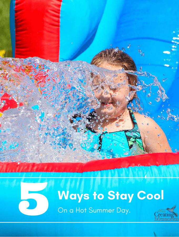 Top 5 ways for Kids to Stay Cool on a Hot Day