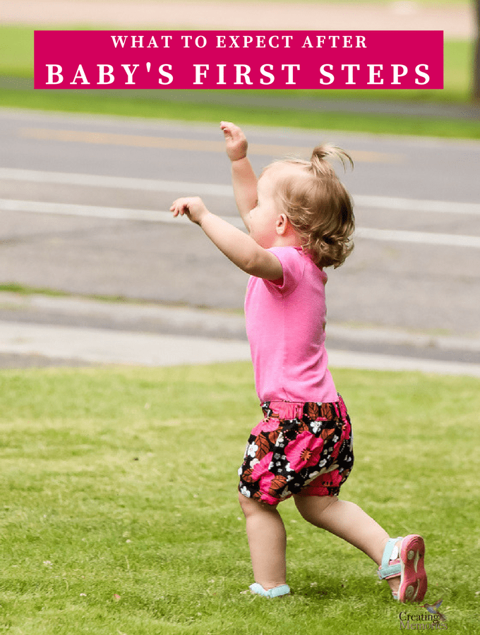 What to Expect After Baby's First Steps