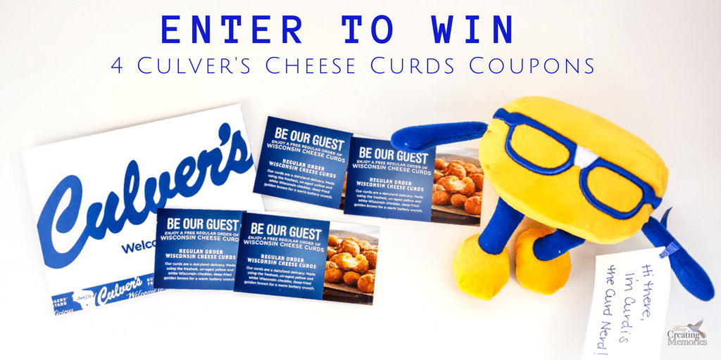 Enjoy a Special Lunch Date w/ Culver's Cheese Curds