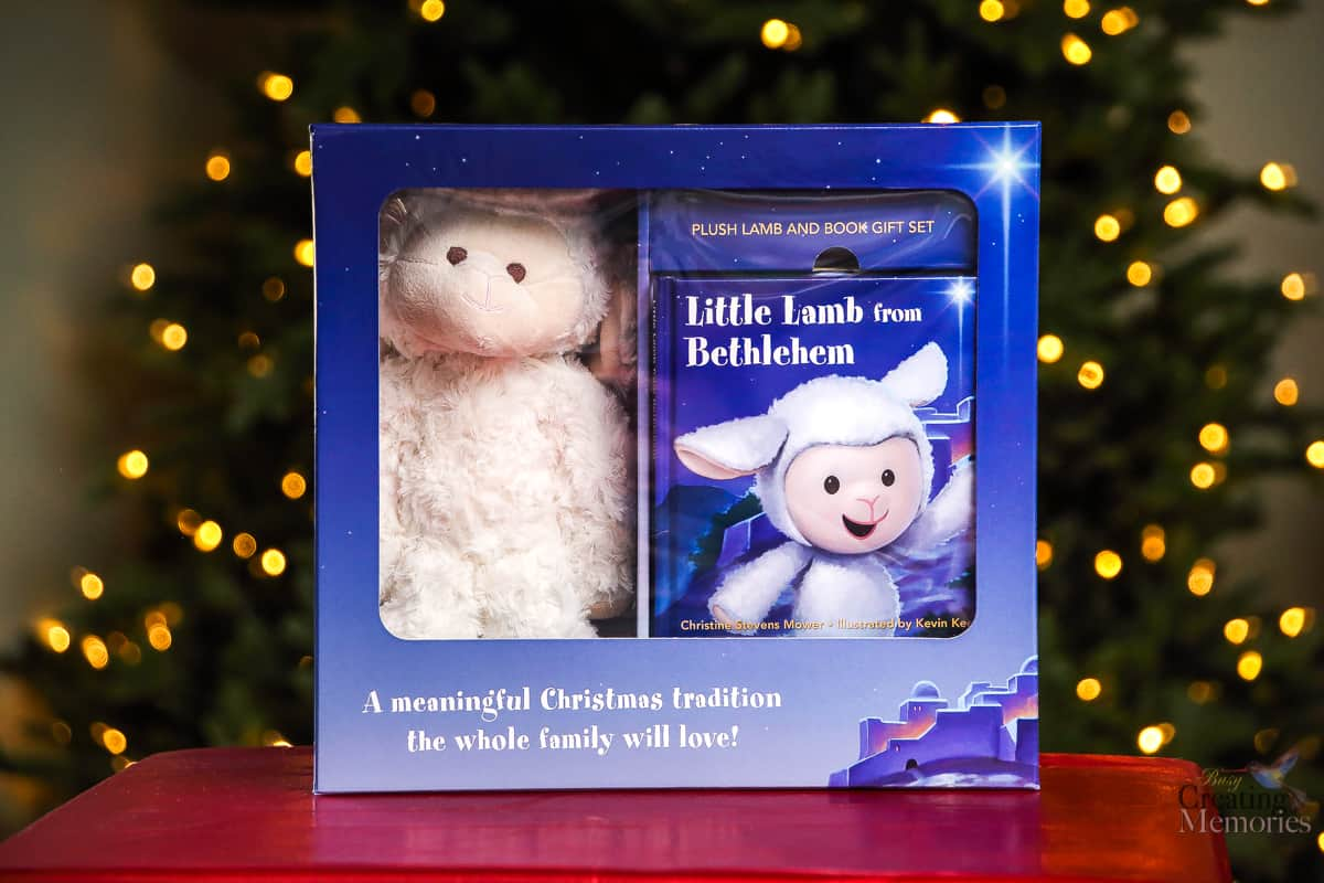 Little Lamb of Bethlehem - Christ Centered Elf on the shelf alternative