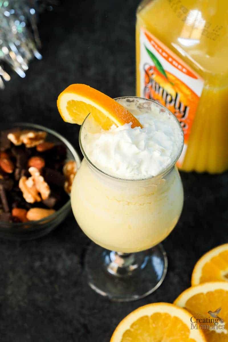 Simply GOOD Orange Cream Soda Easy Mocktail Recipe for kids