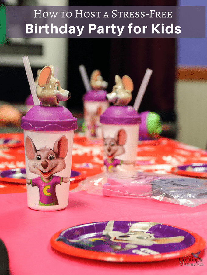 How to Throw a Stress Free Birthday Party for Kids