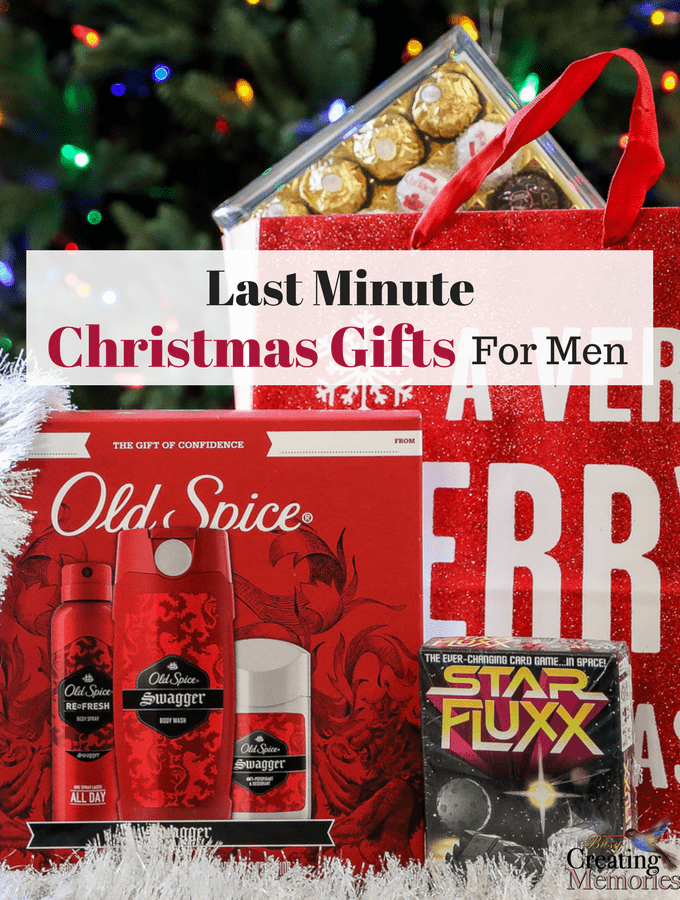Last Minute Christmas Gifts for Men