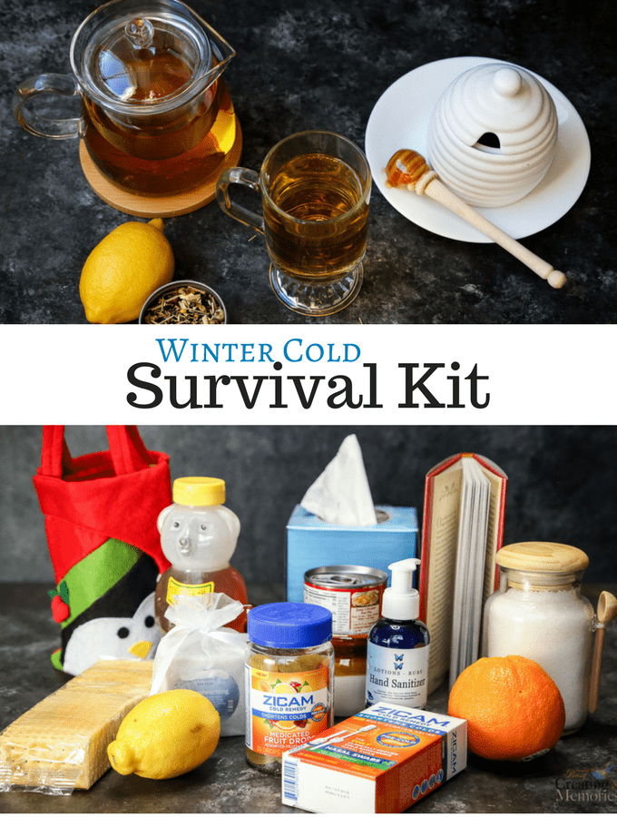 DIY Winter Cold Survival Kit