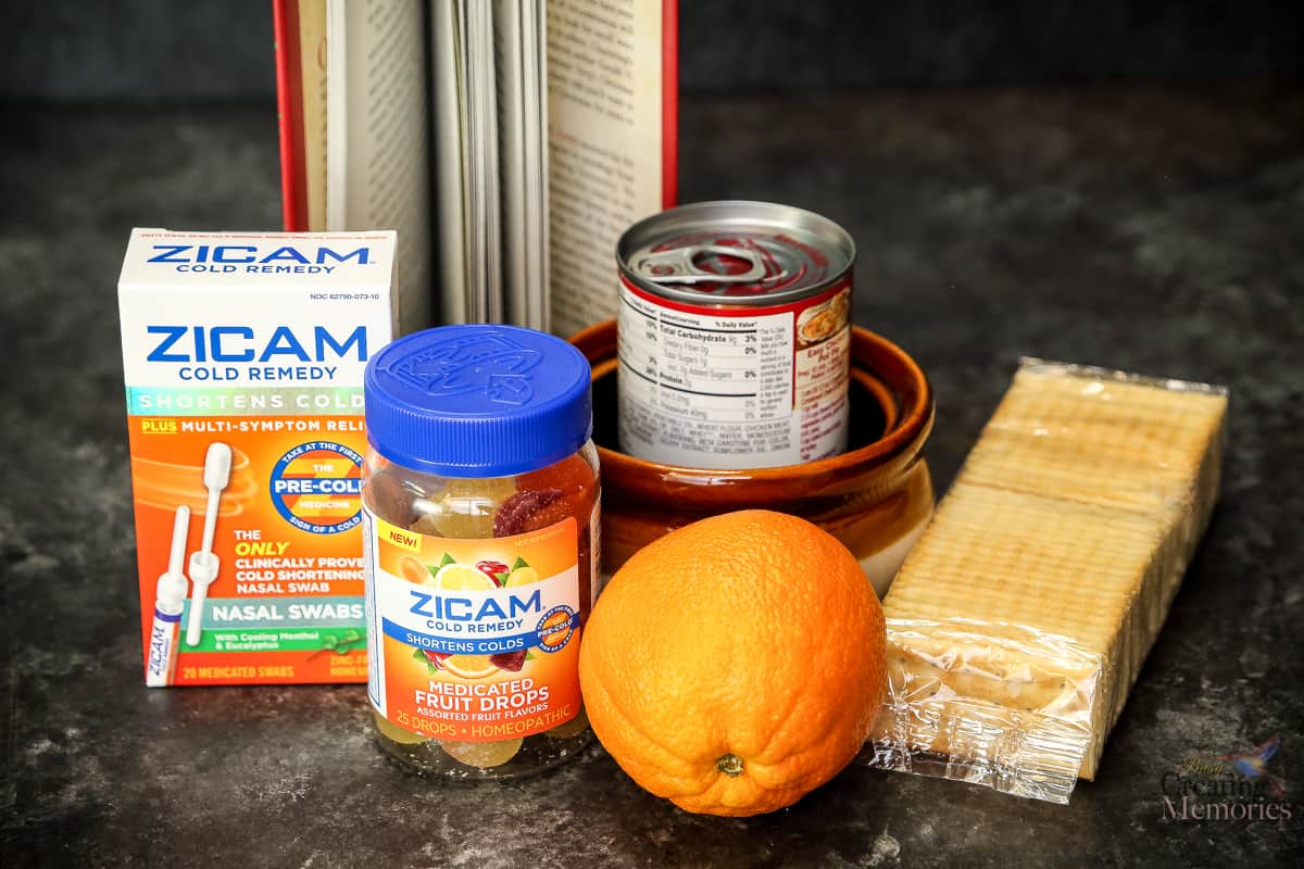 DIY Winter Cold Survival Kit to help you weather that nasty cold virus