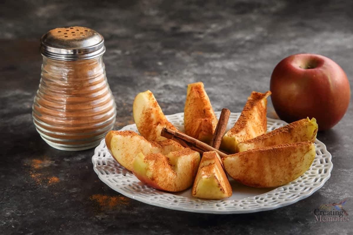 How to make the best Cinnamon Apples Recipe, amazing sugar free snack