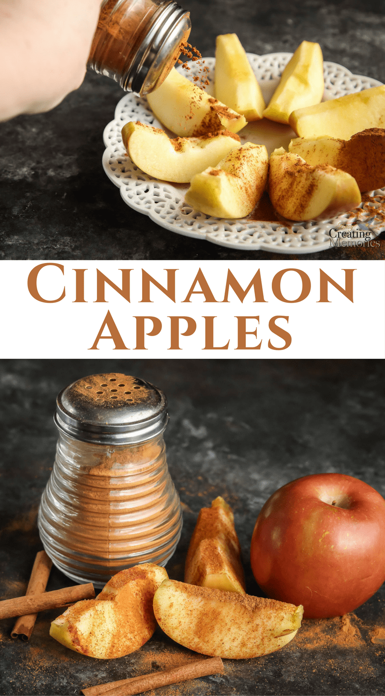 This healthy Cinnamon apples recipe is perfect for breakfast, lunch, a yummy after-school snack, or the best appetizer for a potluck or holiday party. No bake, & no sugar! Excellent healthy snack for kids & adults alike. Gluten-Free, paleo friendly and Bright Line Eating approved! And it's 0 PointsPlus on Weight Watchers! Staying healthy never tasted so good!