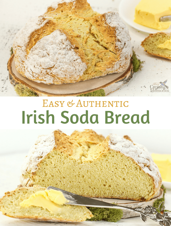 Authentic Easy Irish Soda Bread Recipe - Traditional & Modern Ingredients
