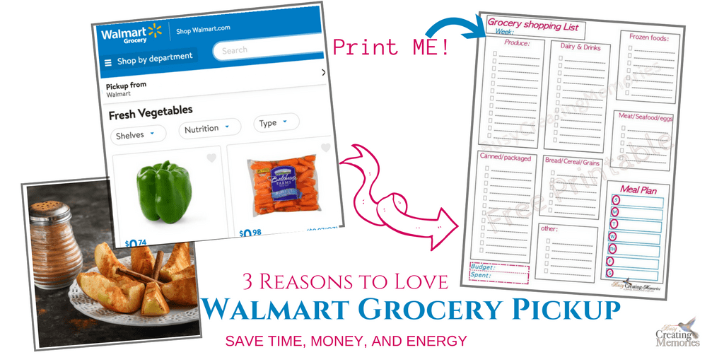 3 Reasons Parents Love Walmart Grocery Pickup + Grocery List Printable