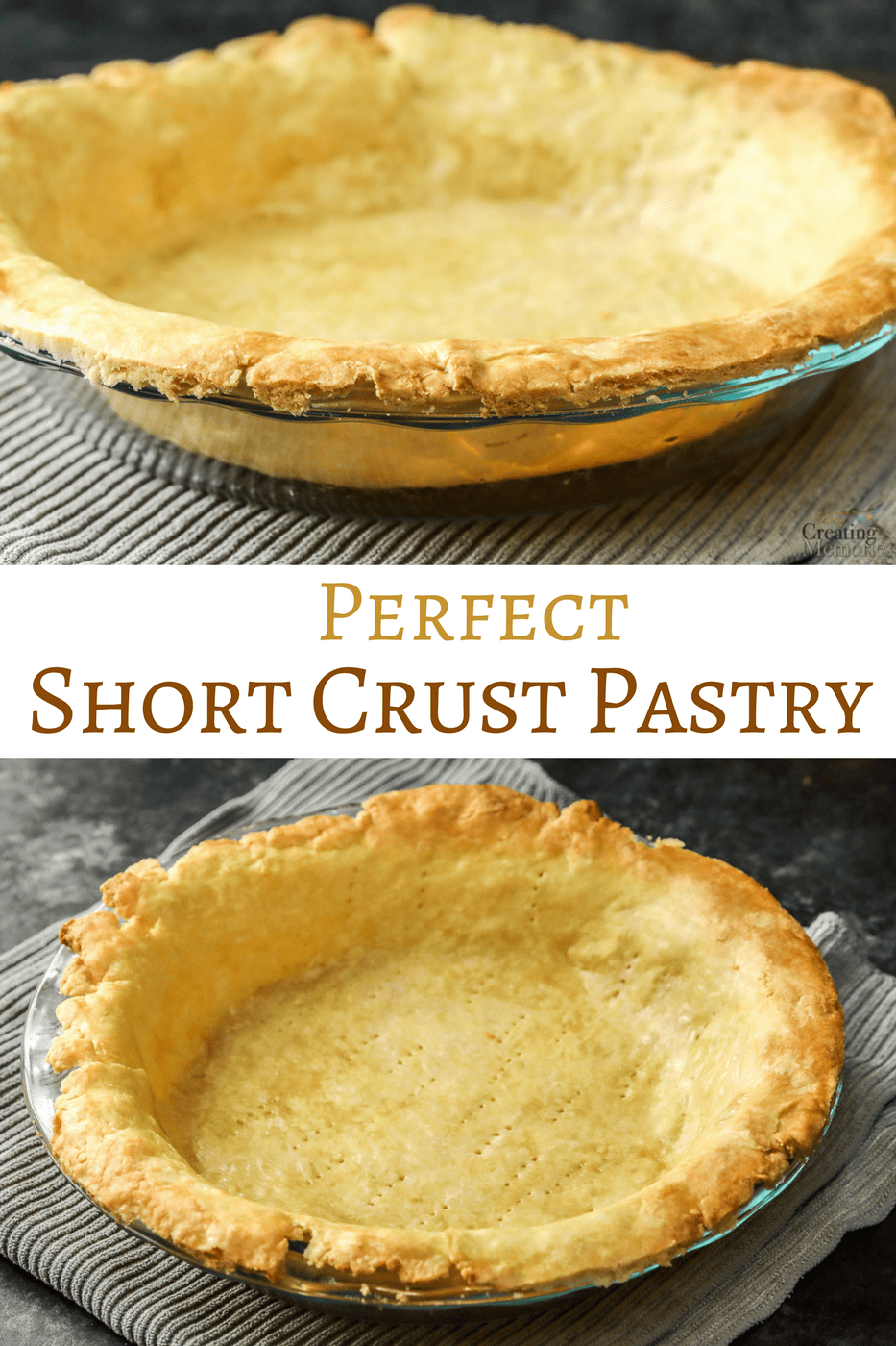 How to make the Perfect Shortcrust Pastry recipe for the best pies ever.