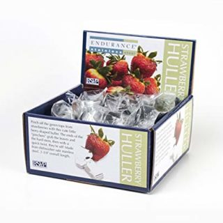 Endurance Strawberry Hullers, Silver