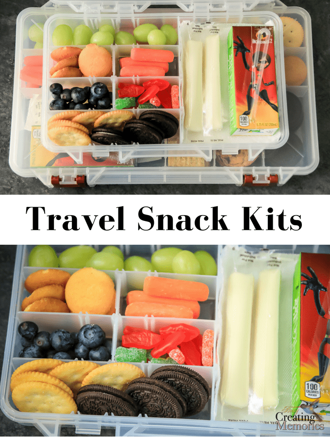 The Best Kids Snack Kit for traveling.