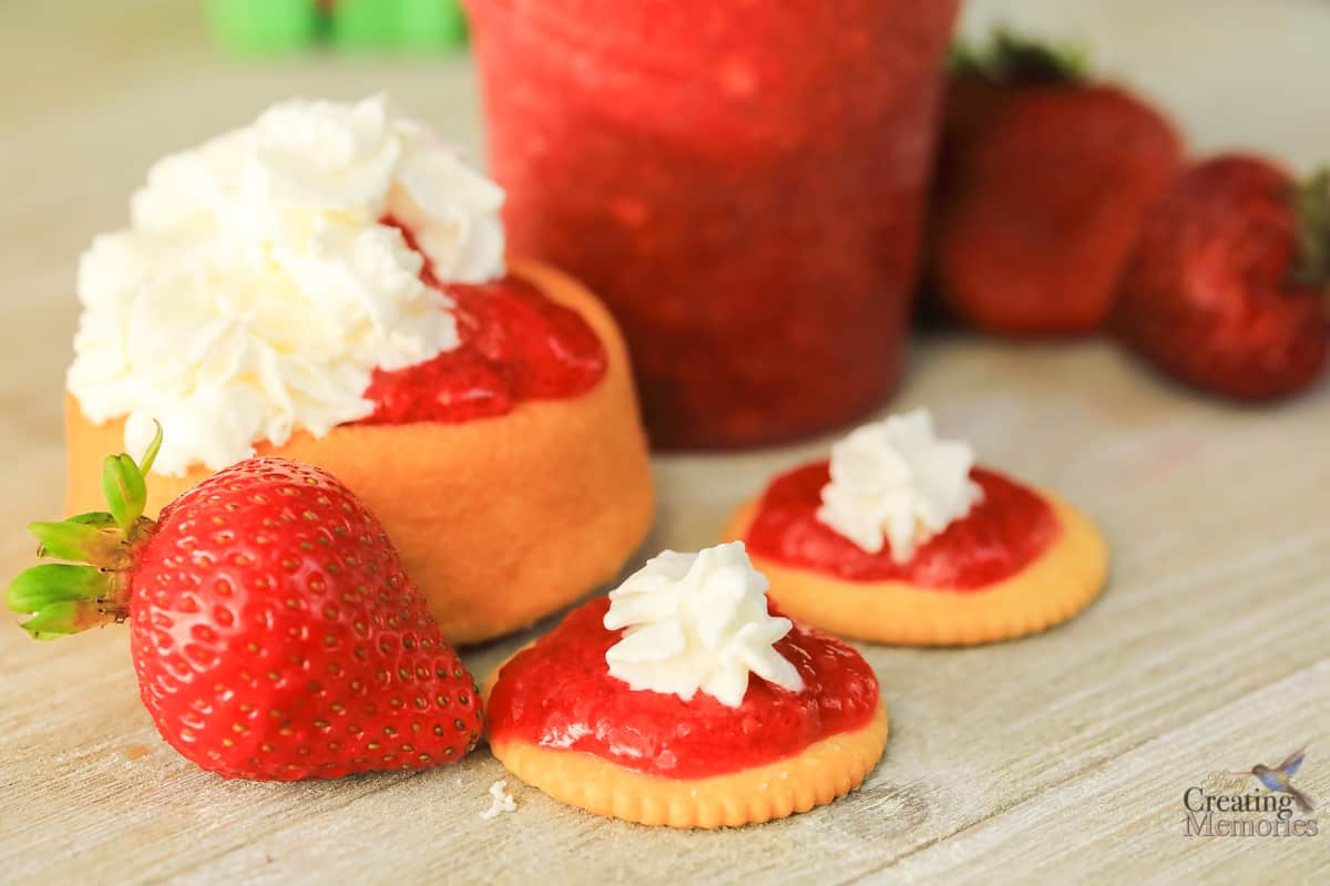 Best Ever, Low Sugar, No Cook Strawberry Freezer Jam Recipe