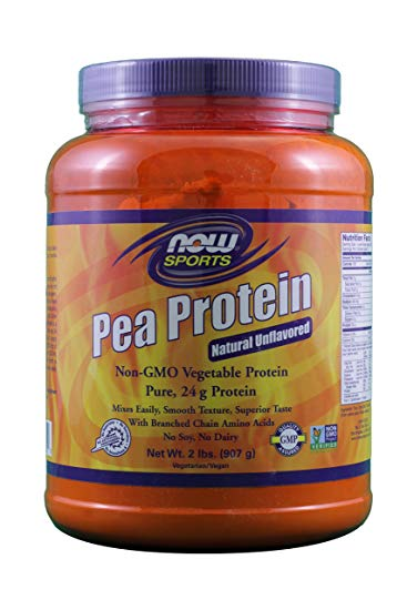 Now Foods Pea Protein Unflavored (2 Pack)