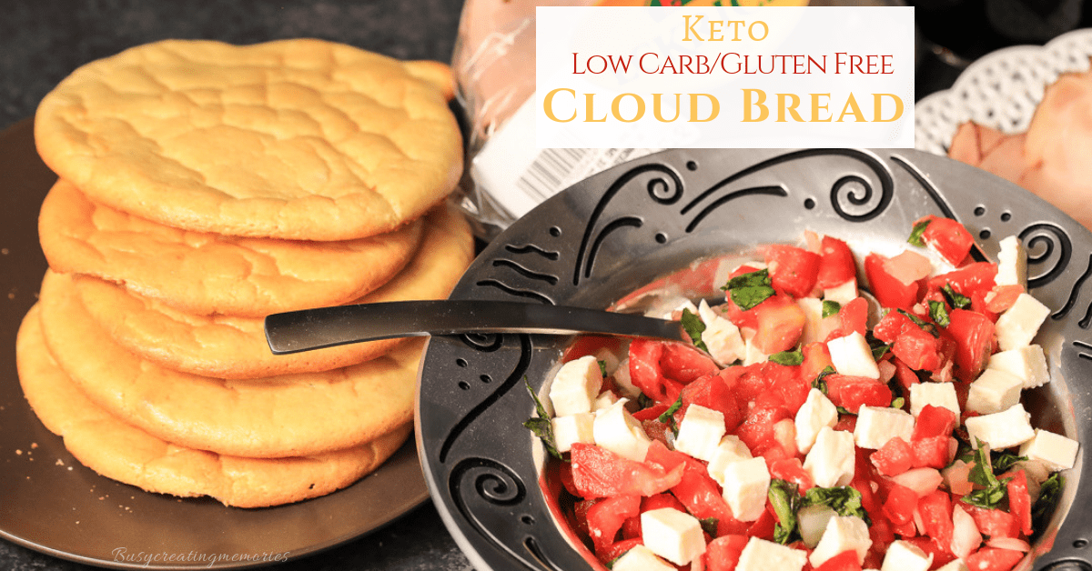 How to make the Best Low Carb Keto Bread - An Easy Cloud Bread recipe
