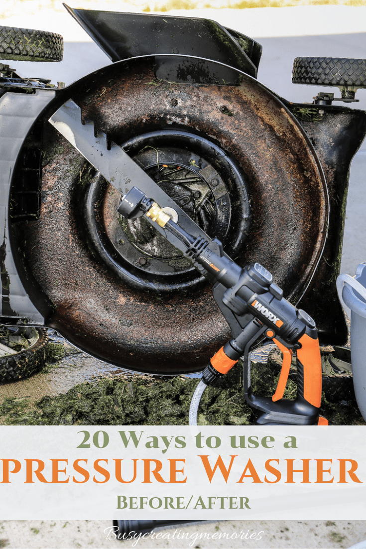 20 Ways How to use a Pressure Washer & 5 Reasons you need a WORX Hydroshot