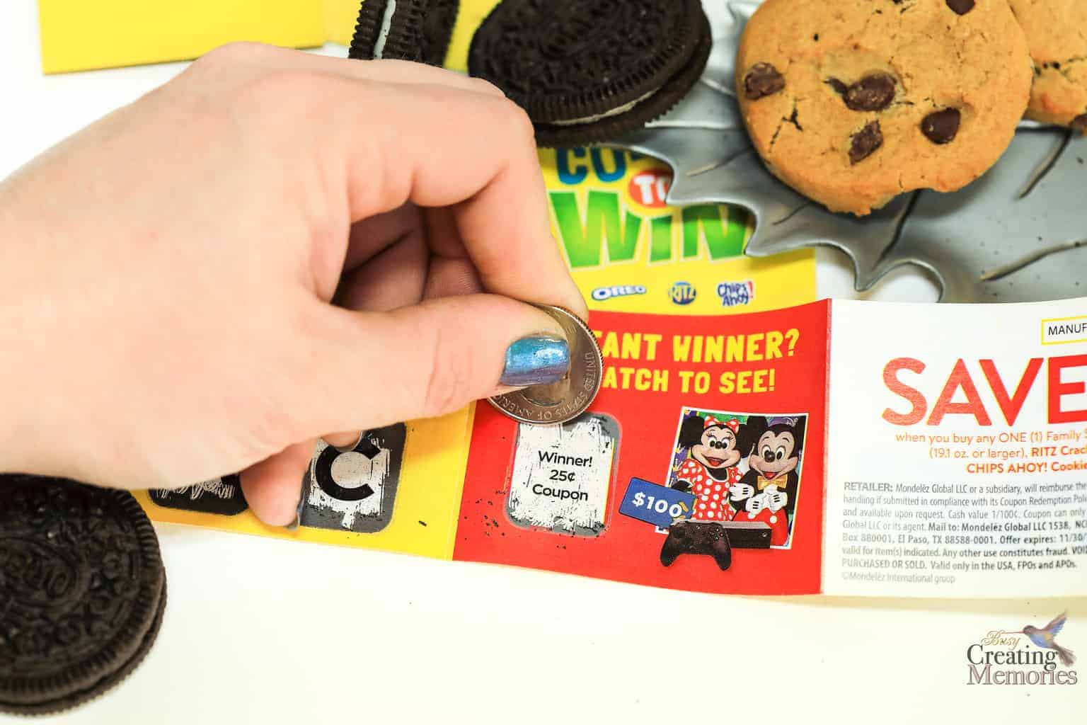 Grab Nabisco Scratch & Win Family size Snacks and Score!