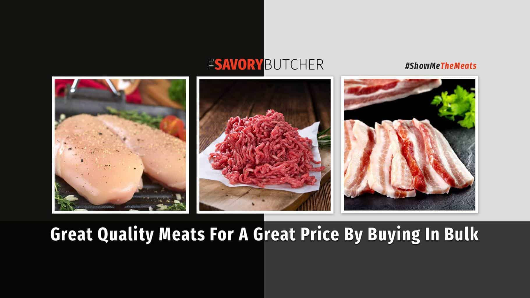 NEW Bulk Meat Online Ordering - The Savory Butcher : Alternative To Zaycon
