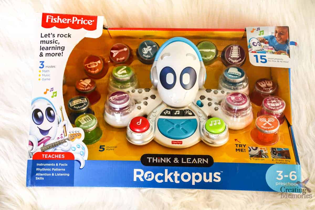 Think & Learn Rocktopus Fisher Price the Best Musical toys for toddlers