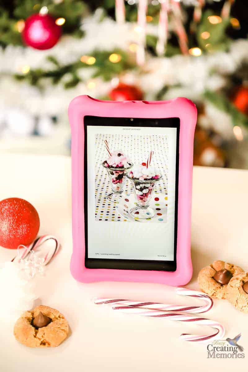 MakingFun Family Christmas Traditions with Fire HD 8 Kids Edition Tablet