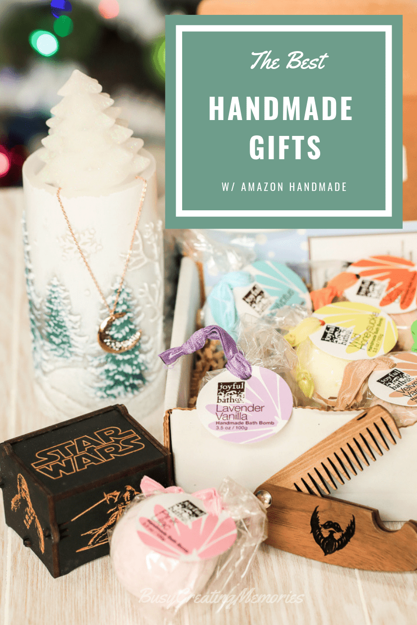 Best Handmade Christmas Gifts from Amazon Handmade Marketplace