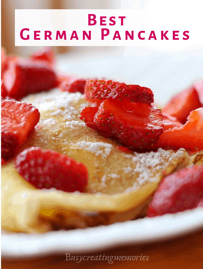 How to Make the Best Oven German Pancakes | Dutch Baby Recipe
