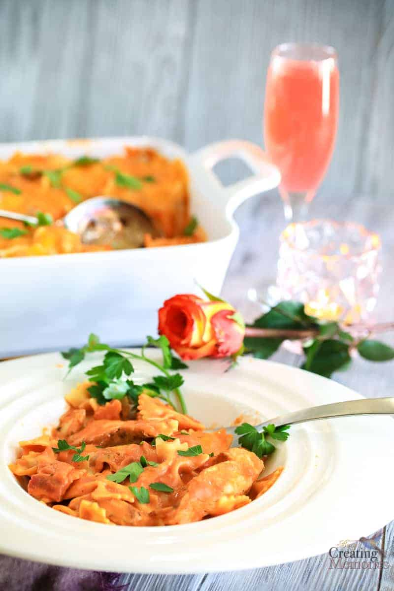 Easy Chicken Casserole Recipe - Bacon Chicken Rosa Bake