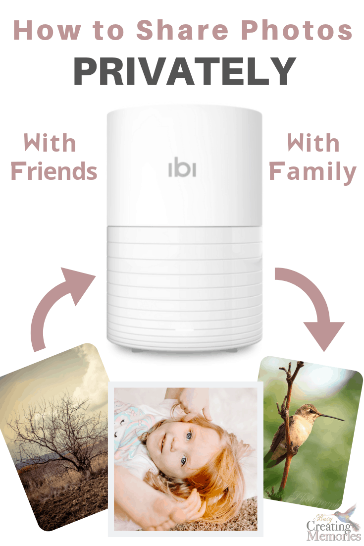 Finally, private online photo sharing with ibi photo manager