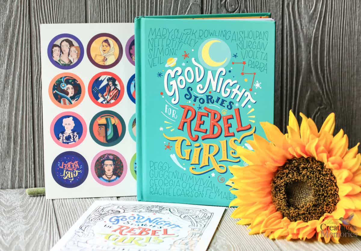 Goodnight Rebel Girls bedtime stories