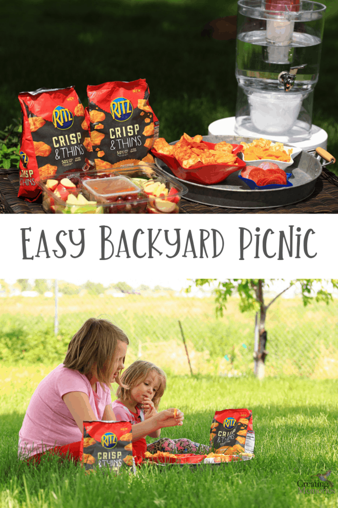 Take advantage of the warm weather whenever it shows with an easy backyard summer picnic with Easy picnic food ideas for busy Parents and happy kids