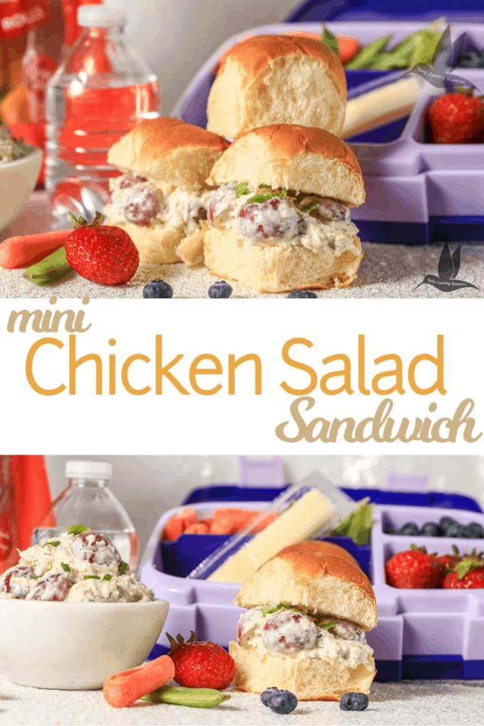 Discover how to make an easy Classic homemade healthy chicken salad recipe with grapes for a perfect sandwich meal prep option and makes the best chicken salad sandwiches from Canned Chicken with fresh dill! Perfect for simple school lunches or picnics that can be made ahead of time! #KingsHawaiian #KingsHawaiianLunch #IC